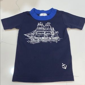 Hanna Andersson pirate pajama top size 3 (90cm)